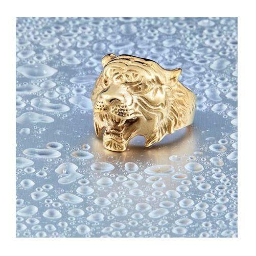 Beier New Animal Biker Ring Tiger Fashion Jewelry