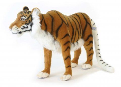 Hansa Caspian Tiger Stuffed Plush Animal. by Hansa