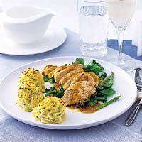 Recept - Kalkoenfilet met groene groenten uit de braadzak - Allerhande