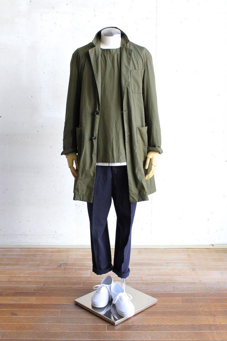ミリタリー,ファッション,メンズ,着こなし,コーディネート,2015,MA-1,画像