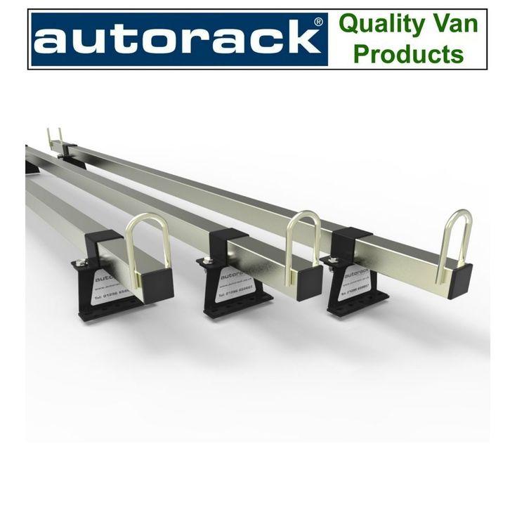 Van Roof Rack 3 Bars VAUXHALL MOVANO 2010-onward current van - Autorack MegaBars #AUTORACKROOFRACKS
