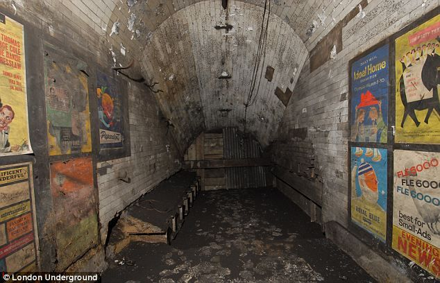 For 50 years this room stayed hidden on the London underground. it was discovered when builders where renovating Notting Hill train station. just yards away from where thousands of people pass a day.