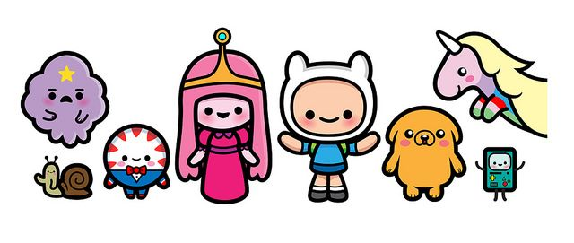Hora de Aventuras: personajes Kawaii / Adventure Time: Kawaii characters