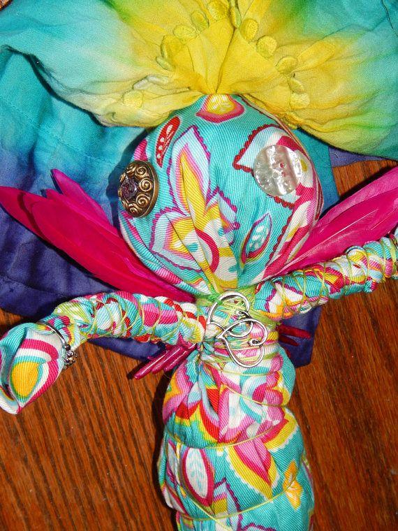 Good Juju Fairy Poppet  Voodoo Doll  Good Luck Spell Fetch