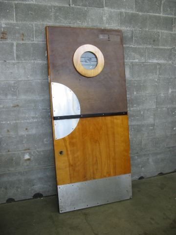 Second Use Seattle >> Groovy Bar Door w/ Porthole | Second Use, Seattle: Building Materials, Salvage, & Deconstruction ...