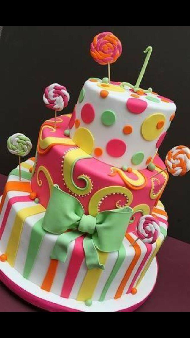 Fun Celebration Cake
