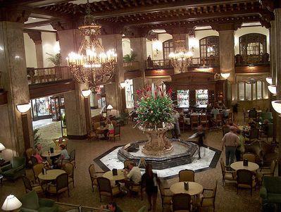 Lobby of The Peabody Hotel, Memphis