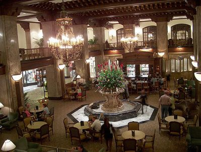 Lobby of The Peabody Hotel, Memphis