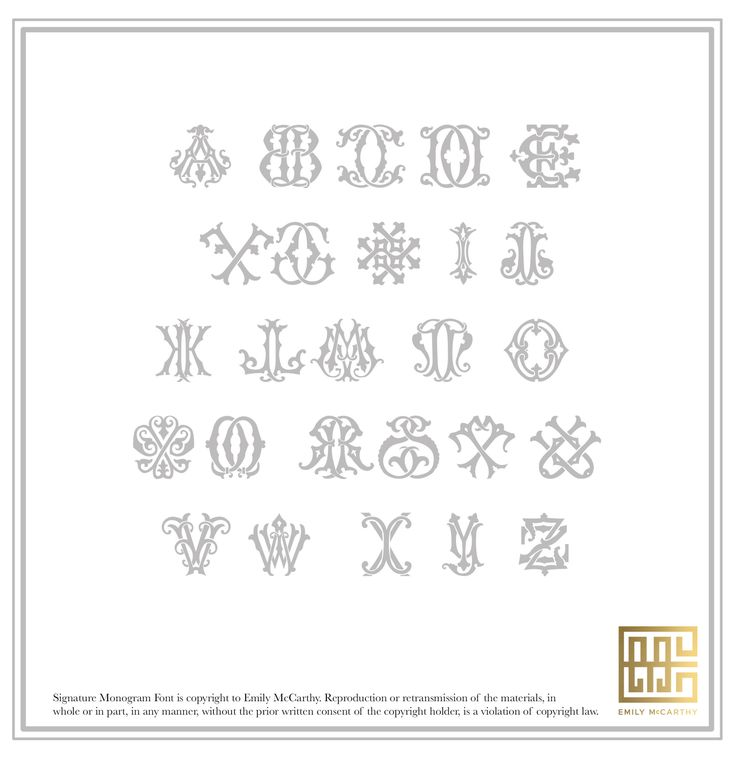 65 best Monograms images on Pinterest