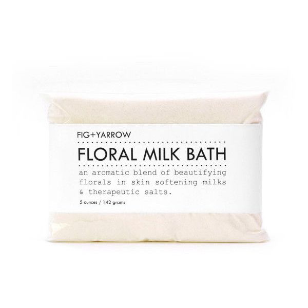 FLORAL MILK BATH is an aromatic blend of beautifying florals in skin-softening milks & therapeutic salts. +essential oils of rosewood, ylang ylang, geranium an…