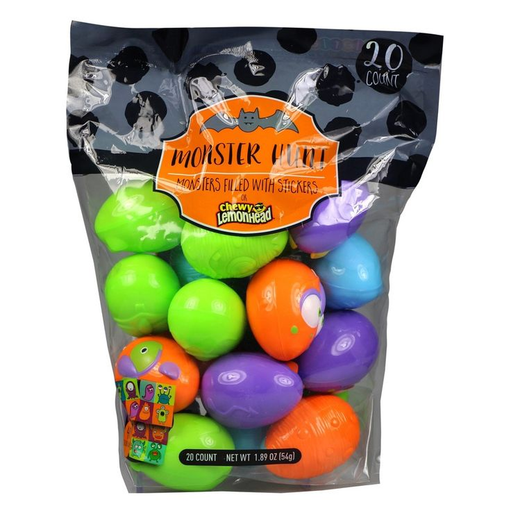 Galerie Halloween Monster Hunt with Candy and Stickers - 1.89oz/20ct