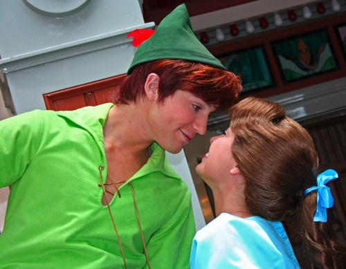 This is a darling Peter and Wendy photo. Get it? Darling? Photo by #briannacherrygarcia