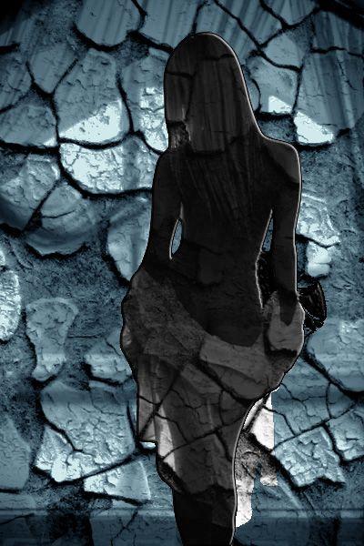 Art-Blue-Alone by Muge Basak