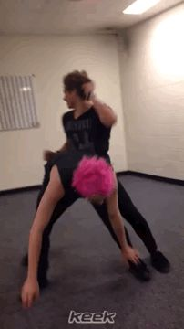 Who doesn't need a twerking Michael on their board?<<I signed up for the best fandom ever