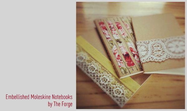 embellished notebooks!