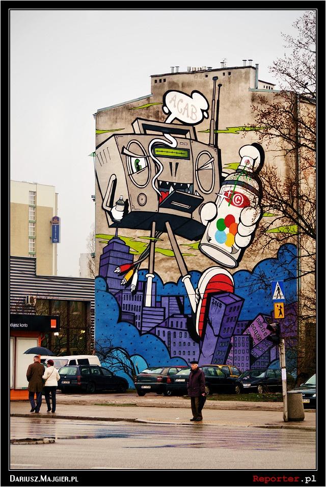Mural Boombox