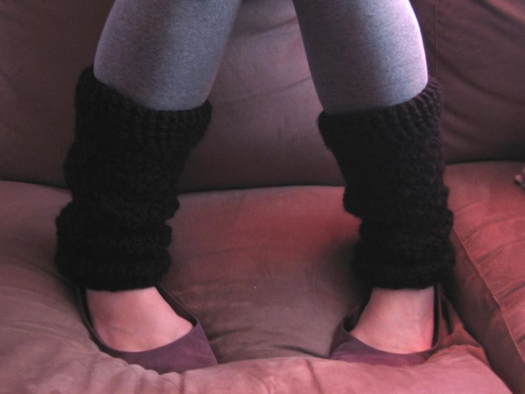 super warm and chunky leg warmers