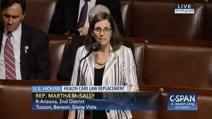 WASHINGTON, DC—The House of Representatives today unanimously passed U.S. Representative Martha McSally's legislation to prevent Members of Congress and their staff from being exempt from the State waiver provisions of the American Health Care Act (AHCA) as amended.