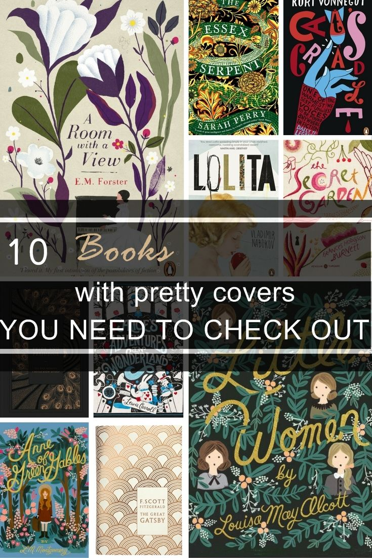 These 10 book covers will make you want to read these books! You have to see what they're about.