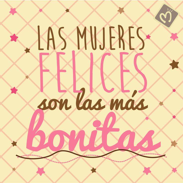Las mujeres felices son las más bonitas #MujeresFelices #DíaDeLaMujer #Migas. Encuentra en Migas los regalos más bonitos para sorprender a esa mujer tan especial. Escríbenos al 314 855 2090 o visita nuestro punto de venta.