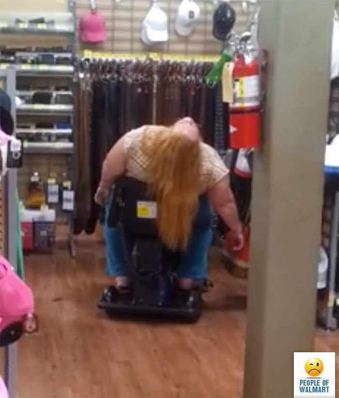 40 Worst Kind of People of Walmart That You've Ever Seen - 06