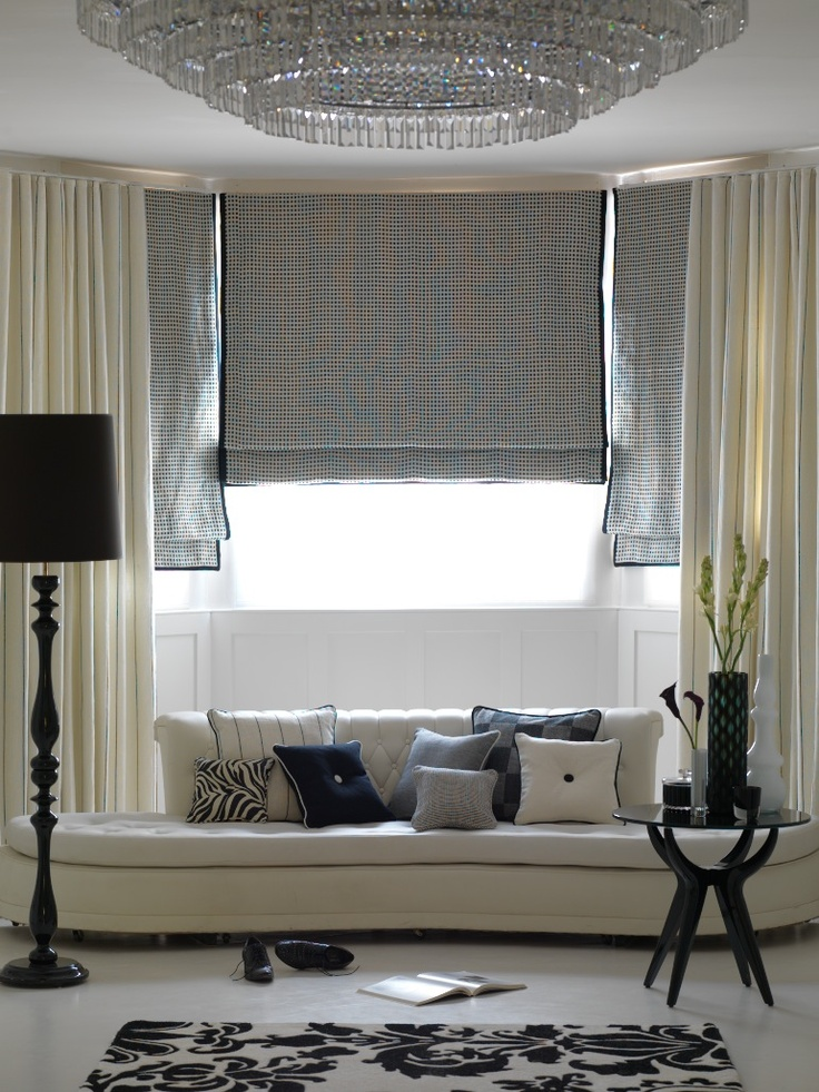 idea for my living room window covering hard to know what. Black Bedroom Furniture Sets. Home Design Ideas