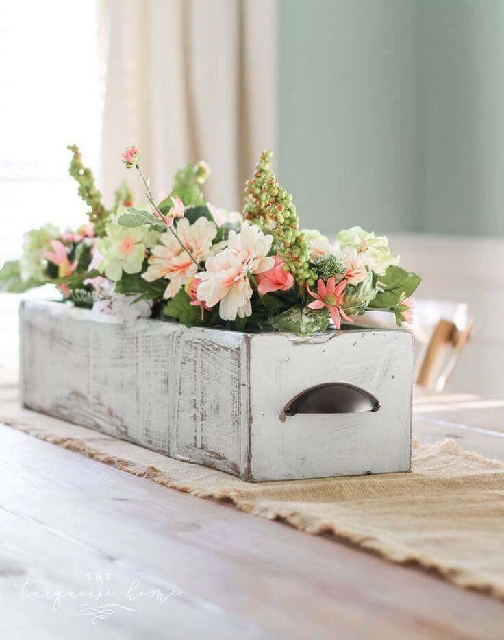 37 Sweet Spring Centerpiece Ideas That Will Make Your Table Glow