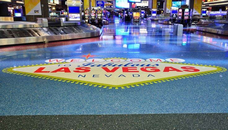 McCarran Airport (With images) Terrazzo, Nevada day