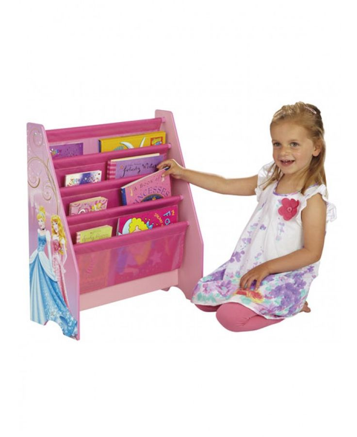 This Disney Princess Sling Bookcase Is Perfect For Keeping All Little Fans Rooms Neat And