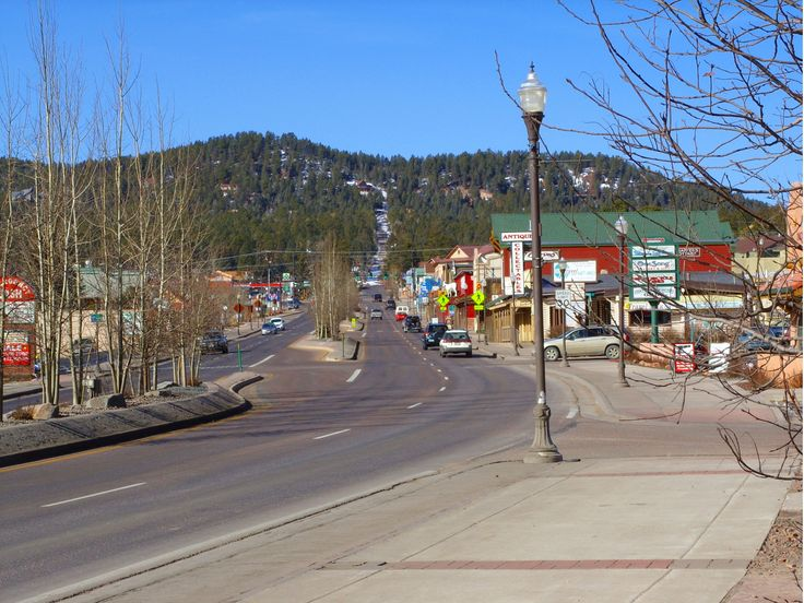 Outside Of Colorado Springs And On The Way To Woodland Park CO Description From