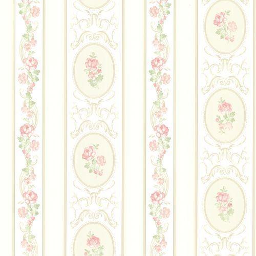 Brewster 344-68746 Palmer Pink Stripe Wallpaper