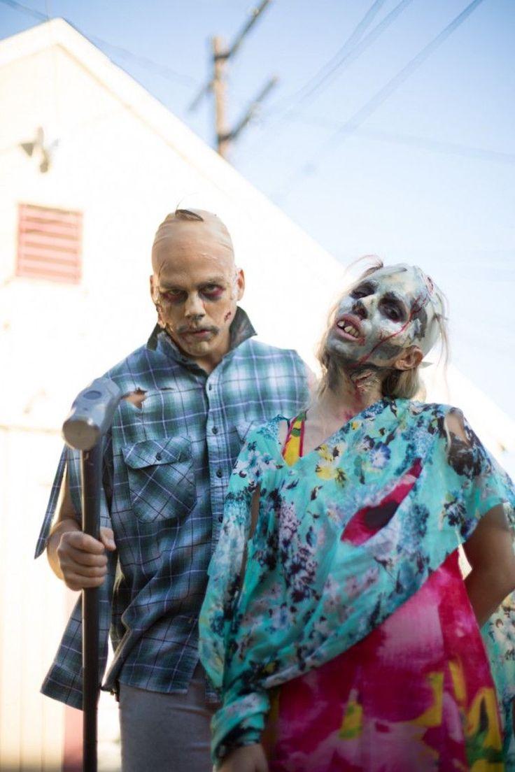 Tuto maquillage zombie et costume de zombie fait maison pour femme et homme