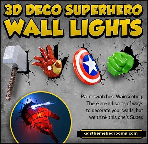 Decorating theme bedrooms - Maries Manor: Superheroes bedroom ideas - batman - spiderman - superman decor - superman phone booth bedroom ideas - Captain America - comic book bedding - batmobile bed - Wonder Woman