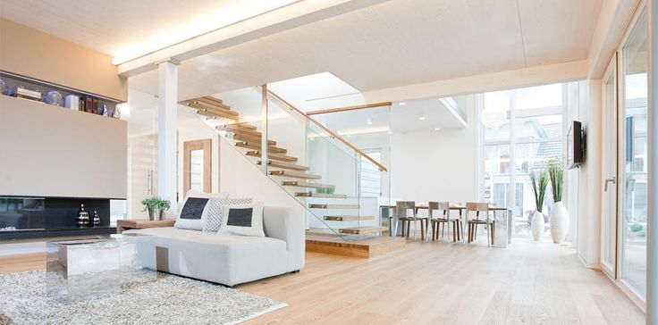 Moderne fertigh user mit holz ihr wohntraum mit einem for Fertigteilhaus container