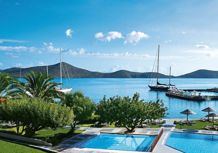 Porto Elounda De Luxe Resort - Exterior View http://www.elounda.com/en/hotels/europe-greece-crete-lassithi-elounda/portoeloundadeluxeresort.html
