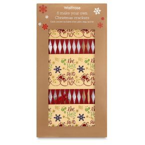 22 best christmas trees and decor images on pinterest rboles de waitrose make your own crackers set of 6 solutioingenieria Gallery