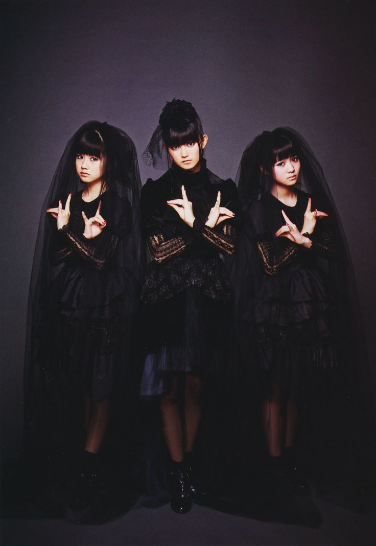 BabyMetal. These chicks omg.....search