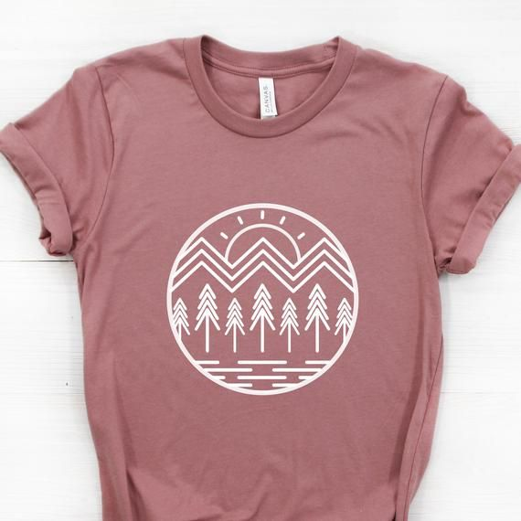 parachute Omit Outlook  mountains #etsy #graphictees #outdoorsy by WildNORTHCo on Etsy | Mountain graphic  tee, Mountain shirt, Shirts