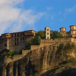 Monasteries of Meteora | The first monasteries were established in the 14th century.© wondergreece.gr