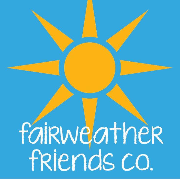 Really love what FairweatherFriendsCo is doing on Etsy.