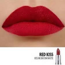 Resultado de imagem para batom red kiss eudora