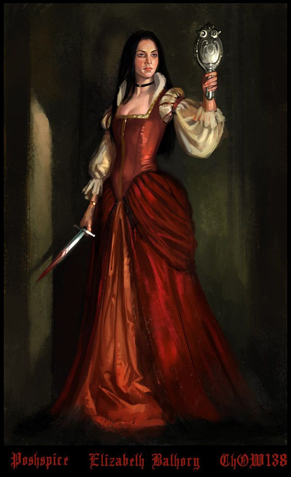 """Countess Elizabeth Báthory de Ecsed (Báthory Erzsébet in Hungarian, Alžbeta Bátoriová in Slovak; 8 August 1560 – 21 August 1614) was a countess from the renowned Báthory family of nobility in the Kingdom of Hungary. She has been labelled the most prolific female serial killer in history and is remembered as the """"Blood Countess,"""" though the precise number of victims is debated."""