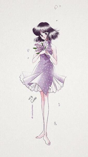 Hotaru / Sailor Saturn from Sailor Moon