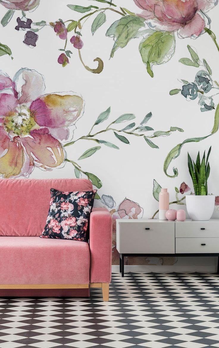 Chinoiserie Wallpaper Wallsauce Ca Wallpaper Living
