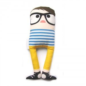geeky plush doll