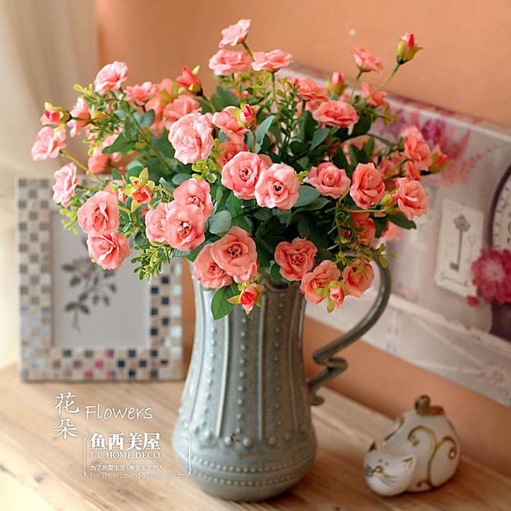 99+ Dry Flowers Decoration For Home - View In Gallery Adding Long ...