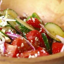 Echte Griekse salade recept - Recepten van Allrecipes