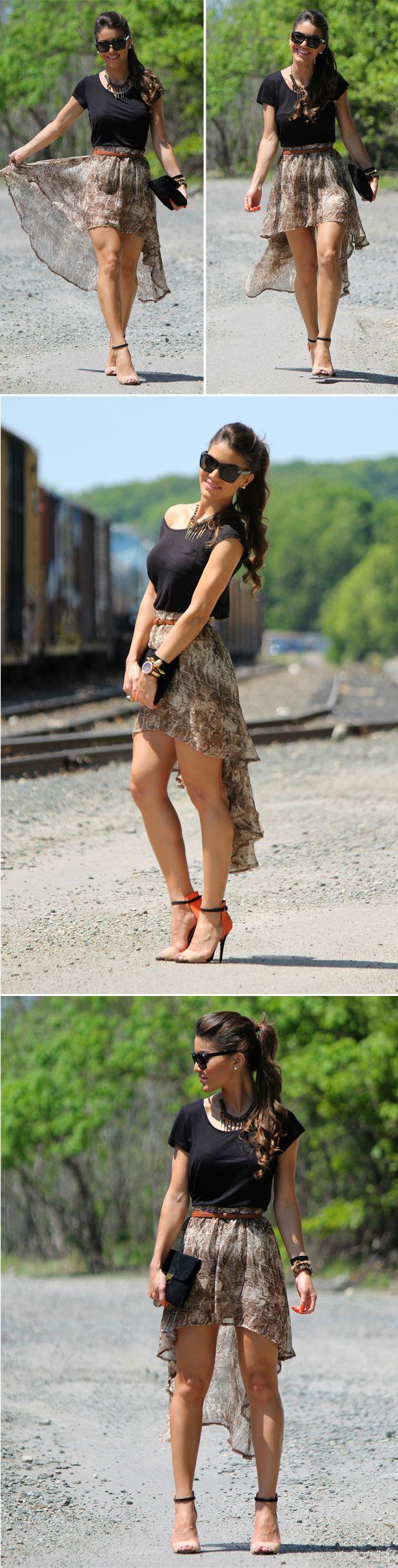 Wish I had cute legs i'd always wear skirts.