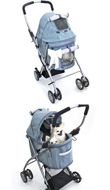 I want a doggy stroller!!