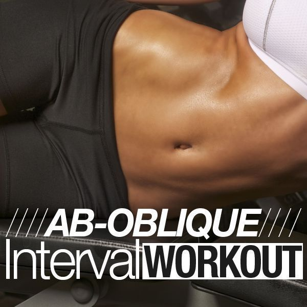 It is time to create some sculpted abs with abdominal/oblique intervals!  #flatbelly #workouts